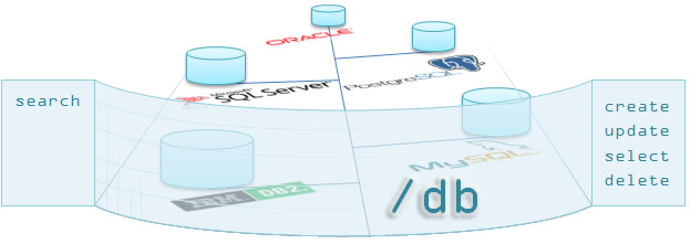 SlashDB as a Central Access Point to Databases