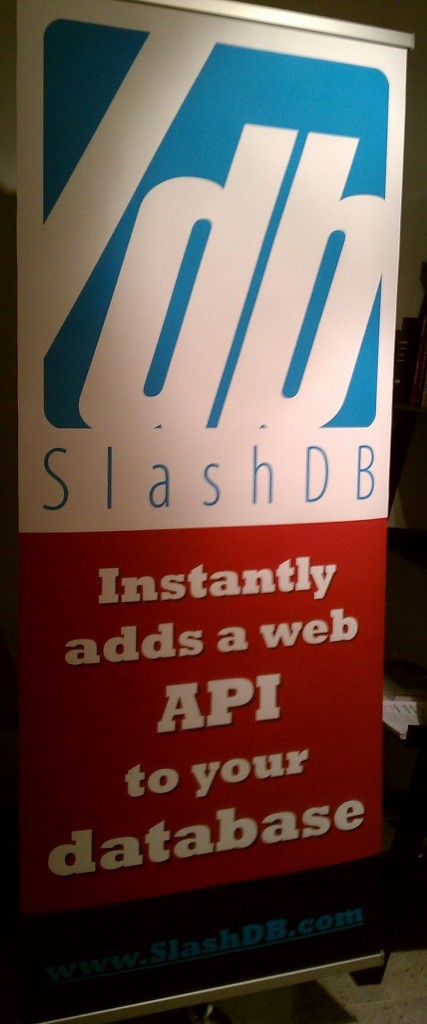 Banner: SlashDB instantly adds a web API to your database