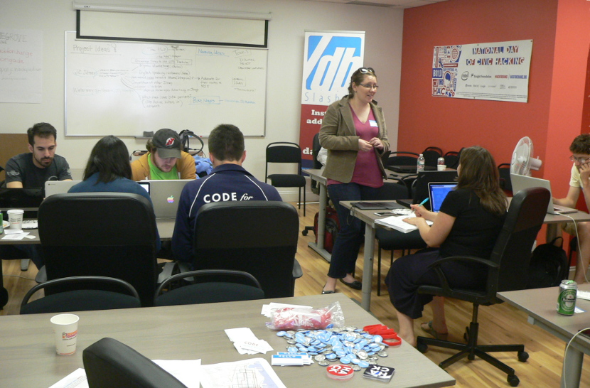 Hackathon, Jersey City, National Day of Civic Hacking