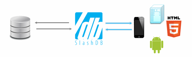 SlashDB connects website to database