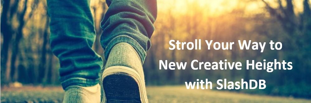 Stroll Your Way To New Creative Heights With SlashDB