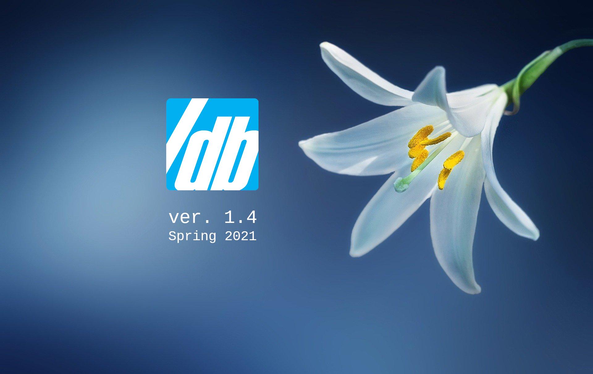 SlashDB V. 1.4 Spring 2021